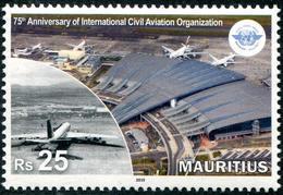 Mauritius - Maurice (2019) - Set -  /  Aviones - Airplanes - Avions - Airmail - Aerei