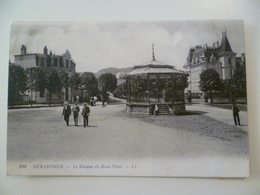 CPA / Carte Postale Ancienne  / GERARDMER Le Kiosque Du Rond Point 1909 - Gerardmer