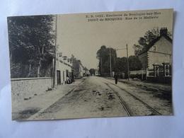 CPA PONT-de-BRIQUES--LA RUE DE LA MALTERIE. - Autres Communes