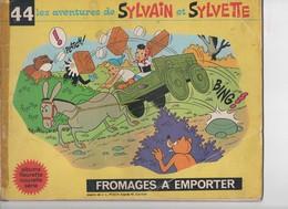 Les Aventures De SYLVAIN Et SYLVETTE, Fromages à Emporter - Non Classés