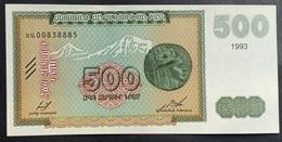 LC0305 - Armenia 500 Dram Banknote 1993 #00838885 UNC P38b - Armenien