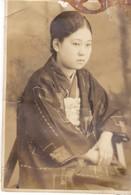 Old Photo Japan Japon Woman - Ancianas (antes De 1900)