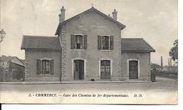 55 - Commercy - Gare Des Chemins De Fer Départementaux - Commercy