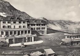 PASSO DELLO STELVIO-BOLZANO-GLI ALBERGHI-CARTOLINA VERA FOTOGRAFIA -VIAGGIATA IL 24-9-1953 - Bolzano (Bozen)