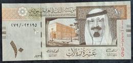 LC0305 - Saudi Arabia KSA 10 Riyal Banknote 2012 #279/023195 A-UNC P33c - Arabie Saoudite