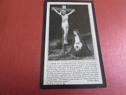 DOODSPRENTJE MEJUFFROUW CATHARINA-ROSALIA DE PRETER - Images Religieuses
