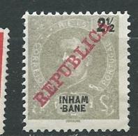 Inhambane  - Yvert N° 32 (*)        AI 28414 - Inhambane