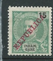 Inhambane  - Yvert N° 35 (*)        AI 28416 - Inhambane