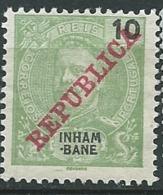 Inhambane  - Yvert N° 34 (*)        AI 28417 - Inhambane