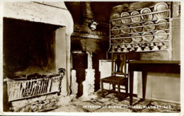 AYRSHIRE - ALLOWAY - INTERIOR BURNS' COTTAGE RP Ayr67 - Ayrshire