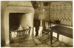 AYRSHIRE - ALLOWAY - BURNS' COTTAGE FIREPLACE RP Ayr102 - Ayrshire