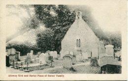 AYRSHIRE - ALLOWAY KIRK AND BURIAL PLACE OF BURNS' FAMILY  Ayr66 - Ayrshire