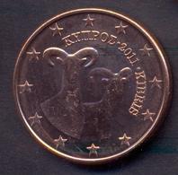 EuroCoins < Cyprus > 5 Cents 2011 UNC - Chipre