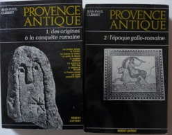 Jean Paul Clébert - Provence Antique. 2 Tomes /  éd. Robert Laffont - 1970 - Histoire