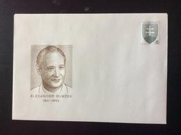 1996 : Alexandre DUBCEK (1921-1992) , 75ème Anniversaire De Sa Naissance ** COB 16 Michel U 16 - Interi Postali