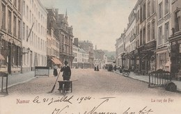 Namur.  La Rue De Fer.  Couleurs. Scan - Namur