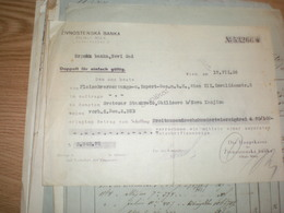 Zivnostenska Banka Filiale Wien 1936 - Autriche