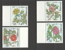 E482 1997 SOOMAALIYA FLORA FLOWERS ROSES MICHEL 20 EURO 1SET MNH - Rose