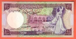 SYRIE  Billet 10 Pounds 1991  Pick 101e  NEUF - Siria