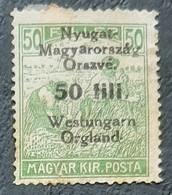Hongrie - Hungary - Surchargé - Neuf (*) - B - Hongrie