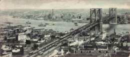 New York S/w Gel.1912 Williamsburg Bridge  (15,5 X 7) - Ponts & Tunnels