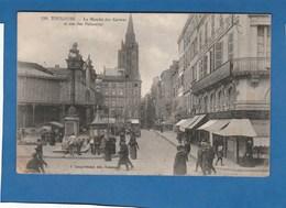 TOULOUSE LE MARCHE DES CARMES ET RUE DES POLINAIRES - Toulouse