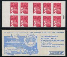 France // Carnets // Carnet Neuf, Non Plié No. 3419-C5, Type Marianne De Luquet - Definitives