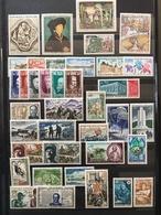 FRANCE Année 1969 - YT N° 1582 à 1620 (sauf 1611) - 39 Timbres Neufs Sans Charnière - France