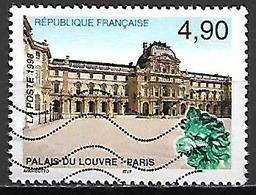 FRANCE   -    1998.   Y&T N° 3174 Oblitéré .   Palais Du Louvre - Usados
