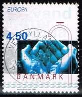 Dänemark 2001,Michel# 1277 O  Europa (C.E.P.T.) 1998 - Wasser - Danemark