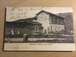 ISERNIA  Stabilimento Balnearie Acque Solfuree 1906, Rara Cartolina (spese Invio Incluse) - Isernia