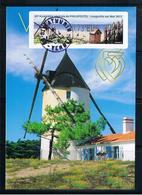 Atm, Lisa2, 0,73 De CHAMI, + 0.13€, 25/04/2019, Ass Gen. Philapostel, LONGEVILLE/mer, MOULIN DE VENDEE,meunier, MENHIR, - 2010-... Geïllustreerde Frankeervignetten