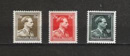 Zegels 1005 - 1007 ** Postfris - Belgique