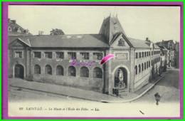 CPA - 50 - SAINT LO - Le Musée Et L'école Des Filles - Saint Lo