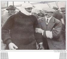 1912 Roland GARROS LE HEROS DU CIRCUIT D'ANJOU / CIRCUIT DE DIEPPE CONDUCTEURS VOITURES / ATHLETISME SAUT A LA PERCHE - Books, Magazines, Comics