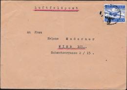 German Feldpost WW2: Airmail From Walki, Poland -  Ortskommandantur (I) 337 FP 44554 P/m 31.1.1943 - Letter   (G111-40) - 2. Weltkrieg
