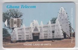 GHANA 2001 PRESERVING THE HERITAGE LARABANGA MOSQUE - Ghana