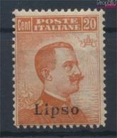 Ägäische Inseln 13VI Postfrisch 1912 Aufdruckausgabe Lipso (9431570 - Aegean (Lipso)