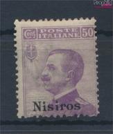 Ägäische Inseln 9VII Postfrisch 1912 Aufdruckausgabe Nisiros (9431543 - Aegean (Nisiro)