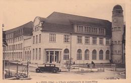 D60  CREIL  L'École Professionnelle De Jeunes Filles  ......... Carte Peu Courante - Creil