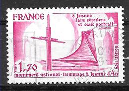 FRANCE 2051 Monument En Mémoire De Jeanne D'Arc . - Gebruikt