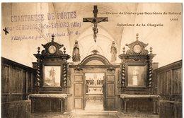 Chartreuse De PORTES Par SERRIERES De BRIORD - Intérieur De La Chapelle - France