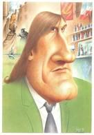 Illustrateur Bernard Veyri Gérard Depardieu - Veyri, Bernard