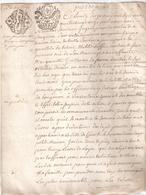 Papier Timbré De Dimension Tarif De Février 1791 - Revenue Stamps