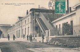 BELLEGARDE - N° 79 - LA PASSERELLE DES DOMBES ET LA GARE - Bellegarde-sur-Valserine