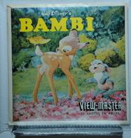 VIEW MASTER  : BAMBI B 400 :  POCHETTE DE 3 DISQUES - Stereoskope - Stereobetrachter
