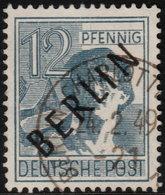 ✔️ Berlin 1948 - Schwarzaufdruck / Black Overprint - Mi. 5 (o) - €1.80 - [5] Berlin
