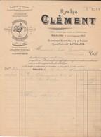 Levallois - Tulle / Cycles Clément (1902) - France