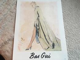Pub- Publicité- Bas Gui - Dessin 1958- - Publicités