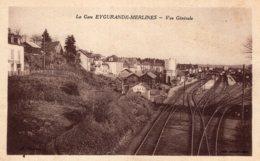 S4526 Cpa 19 La Gare Eygurande Merlines - Vue Générale - Eygurande